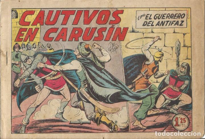 TEBEO EL GUERRERO DEL ANTIFAZ EDITORIAL VALENCIANA Nº 193 (Tebeos y Comics - Valenciana - Guerrero del Antifaz)