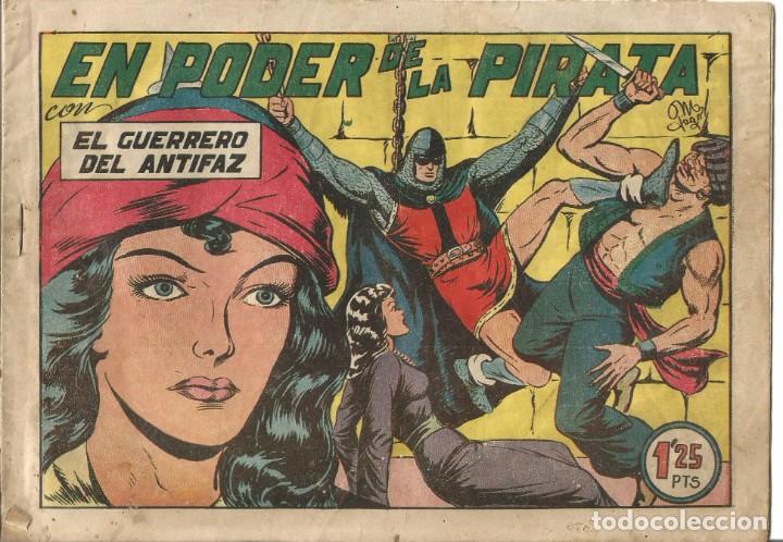 TEBEO EL GUERRERO DEL ANTIFAZ EDITORIAL VALENCIANA Nº 142 (Tebeos y Comics - Valenciana - Guerrero del Antifaz)