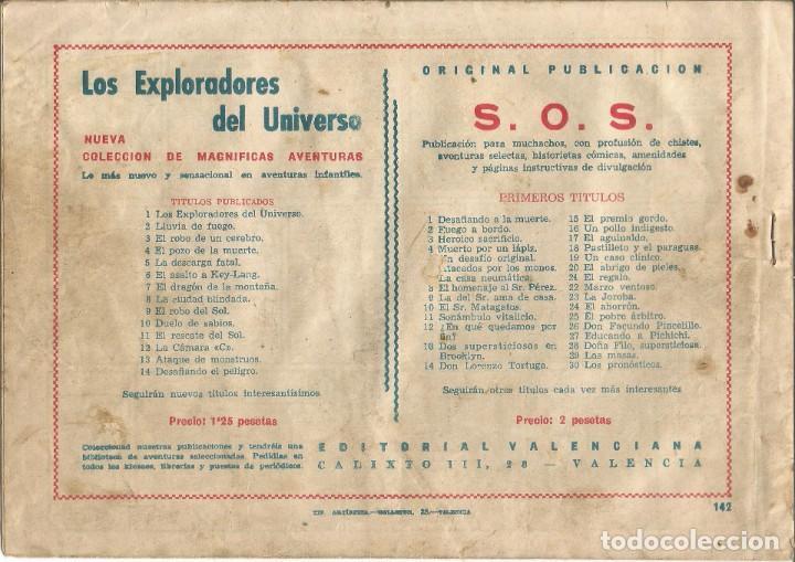 Tebeos: TEBEO EL GUERRERO DEL ANTIFAZ EDITORIAL VALENCIANA Nº 142 - Foto 2 - 218864427