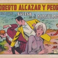 Tebeos: ROBERTO ALCAZAR Y PEDRIN: NUMERO 935 SUCESO EN EL ACANTILADO , EDITORIAL VALENCIANA. Lote 218905098