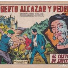 Tebeos: ROBERTO ALCAZAR Y PEDRIN: NUMERO 906 EL CASTILLO DE SHECKLEY , EDITORIAL VALENCIANA. Lote 218906352