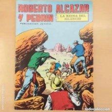 Tebeos: ROBERTO ALCAZAR Y PEDRIN - LA REINA DEL SILENCIO. VALENCIANA NUM 56. Lote 218908252
