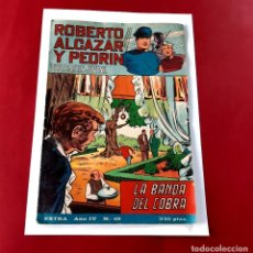Tebeos: ROBERTO ALCAZAR Y PEDRIN EXTRA Nº 69, LA BANDA DEL COBRA REF.C1. Lote 218957788