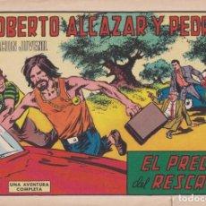 Tebeos: ROBERTO ALCAZAR Y PEDRIN: NUMERO 1010 EL PRECIO DEL RESCATE , EDITORIAL VALENCIANA. Lote 218959853