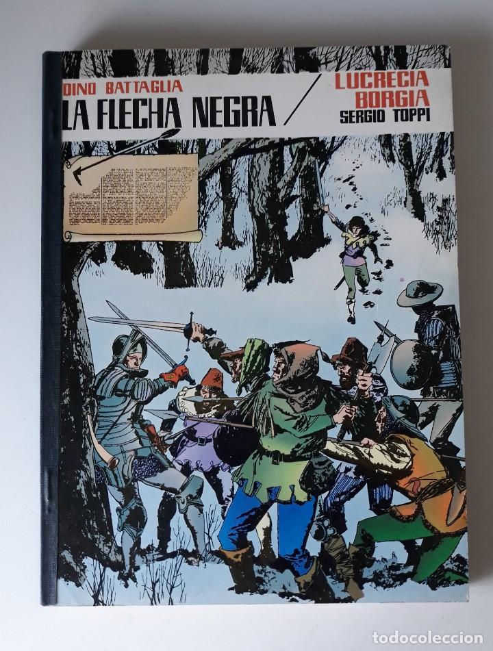 COLECCIÓN PILOTO - TOMO RETAPADO CON 4 ÁLBUMES DE LA SERIE - HUGO PRATT, DINO BATTAGLIA, TOPPI... (Tebeos y Comics - Valenciana - Otros)
