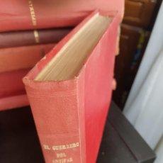 Tebeos: LOTE 45 TEBEOS/CÓMIC TOMO ORIGINAL EL GUERRERO DEL ANTIFAZ VALENCIANA 1952 (1) N 163 A 279 ENCUADERN. Lote 219250613