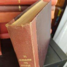 Tebeos: LOTE 30 TEBEOS/CÓMIC TOMO ORIGINAL EL GUERRERO DEL ANTIFAZ VALENCIANA 1952 (6) N 1 A 30 ENCUADERNAD0. Lote 219256866