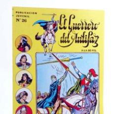 Giornalini: EL GUERRERO DEL ANTIFAZ SERIE INÉDITA 26. UN CASO DE CONCIENCIA (M. GAGO) VALENCIANA, 1984. OFRT. Lote 219301943