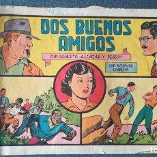 Tebeos: DOS BUENOS AMIGOS CON ROBERTO ALCÁZAR Y PEDRÍN. Lote 219328413