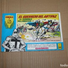 Livros de Banda Desenhada: EL GUERRERO DEL ANTIFAZ Nº 89, HOMENAJE A GAGO, EDITORIAL VALENCIANA. Lote 219352803
