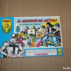 Livros de Banda Desenhada: EL GUERRERO DEL ANTIFAZ Nº 94, HOMENAJE A GAGO, EDITORIAL VALENCIANA. Lote 219352818