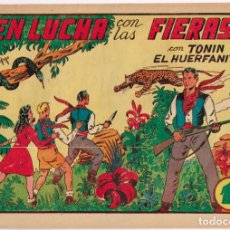 Tebeos: TONIN EL HUERFANITO Nº 3 - SIN ABRIR -. Lote 219394878