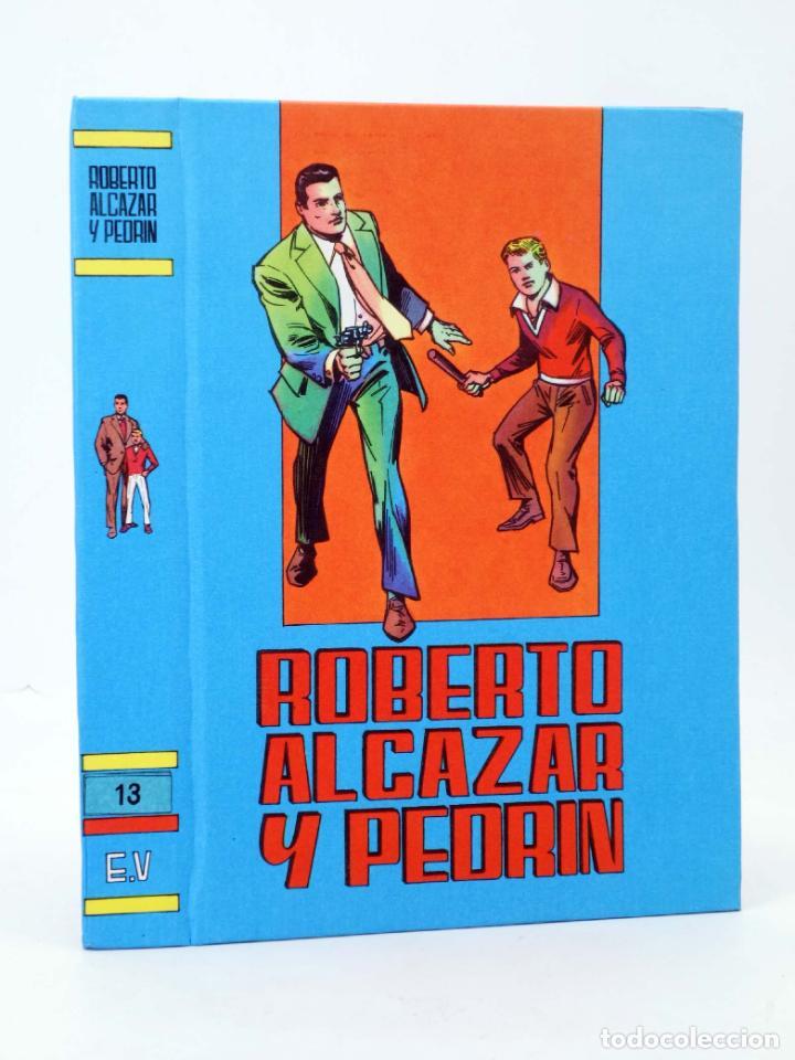 Tebeos: TAPAS PARA ENCUADERNAR ROBERTO ALCÁZAR Y PEDRIN. LOTE DE 14 (12+2) (Vañó) Valenciana, 1976. OFRT - Foto 3 - 219461625
