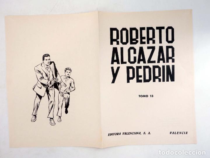 Tebeos: TAPAS PARA ENCUADERNAR ROBERTO ALCÁZAR Y PEDRIN. LOTE DE 14 (12+2) (Vañó) Valenciana, 1976. OFRT - Foto 6 - 219461625