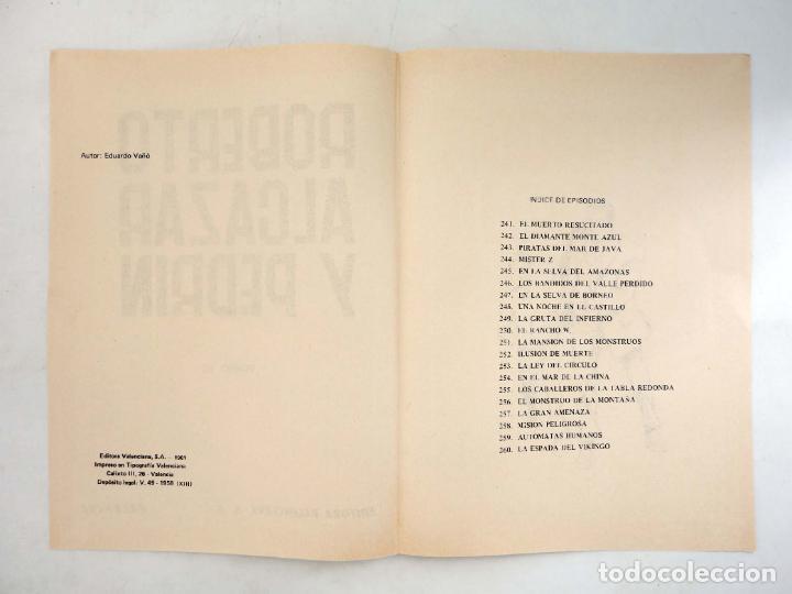 Tebeos: TAPAS PARA ENCUADERNAR ROBERTO ALCÁZAR Y PEDRIN. LOTE DE 14 (12+2) (Vañó) Valenciana, 1976. OFRT - Foto 7 - 219461625