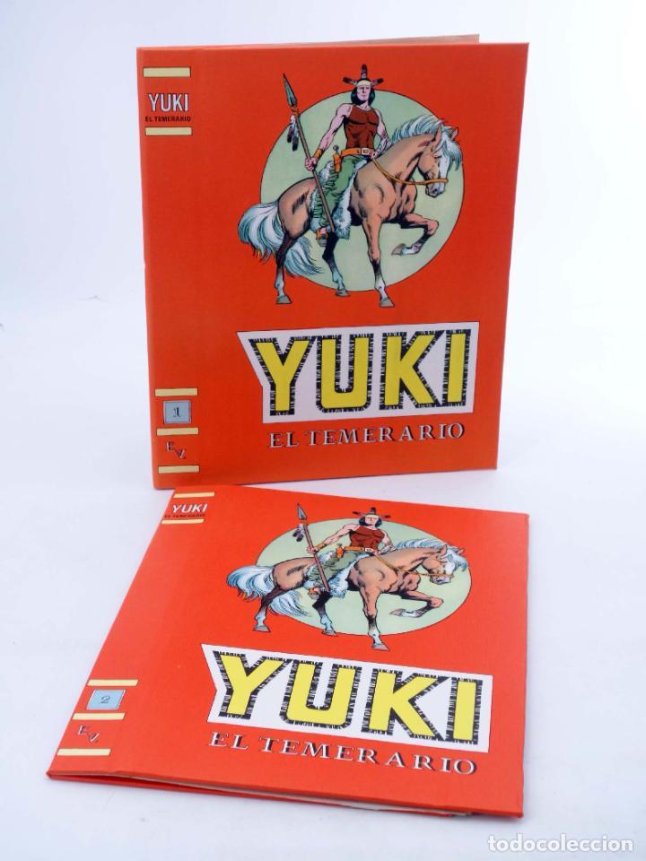 TAPAS ENCUADERNAR YUKI EL TEMERARIO TOMOS 1 Y 2. COMPLETA (GONZÁLEZ E IBÁNEZ) VALENCIANA, 1976. OFRT (Tebeos y Comics - Valenciana - Otros)