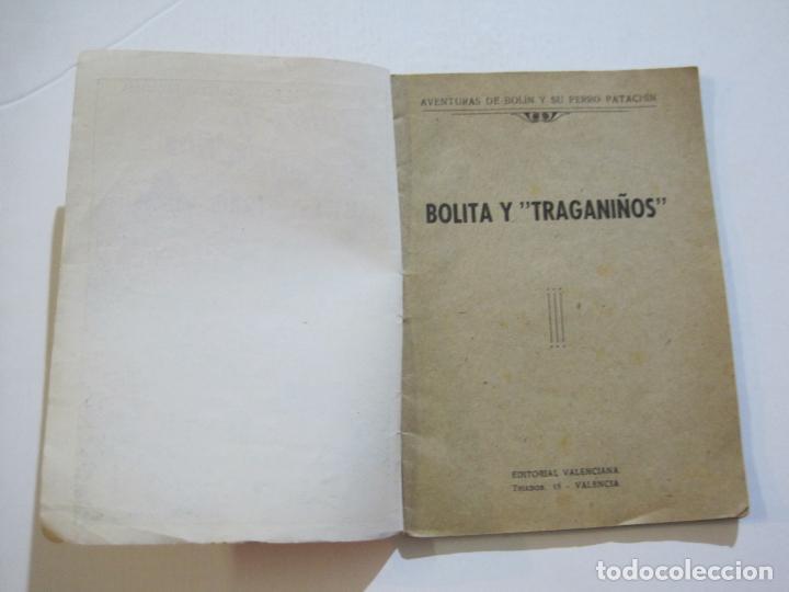 Tebeos: AVENTURAS DE BOLIN Y SU PERRO PATACHIN-BOLITA Y TRAGANIÑOS-EDITORIAL VALENCIANA-VER FOTOS-(K-581) - Foto 3 - 219555340