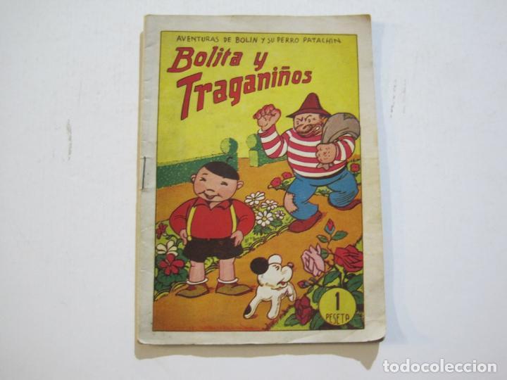 AVENTURAS DE BOLIN Y SU PERRO PATACHIN-BOLITA Y TRAGANIÑOS-EDITORIAL VALENCIANA-VER FOTOS-(K-581) (Tebeos y Comics - Valenciana - Otros)