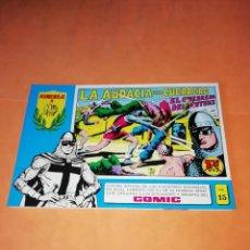Tebeos: EL GUERRERO DEL ANTIFAZ. Nº 15. SERIE AZUL EDITORIAL VALENCIANA 1981 .. Lote 219877505