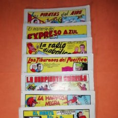 Tebeos: ROBERTO ALCAZAR Y PEDRIN. 7 PRIMEROS NUMEROS. EDITORIAL VALENCIANA 1981.. Lote 219898235
