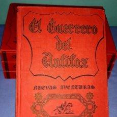 Tebeos: COLECCION DE LOS PRIMEROS 4 TOMOS EL GUERRERO DEL ANTIFAZ NUEVAS AVENTURAS VALENCIANA AÑO 1979. Lote 219967668