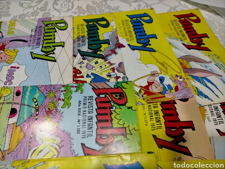 Tebeos: Pumby revista infantil Lote 10 ejemplares - Foto 2 - 220132786