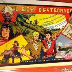 Tebeos: JULIO Y RICARDO - EL REY DESTRONADO- EXCELENTE CONSERVACIÓN. Lote 220141845
