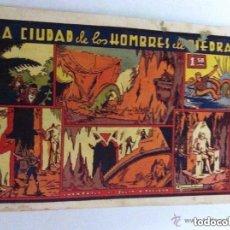 Tebeos: AVENTURAS DE JULIO Y RICARDO - LA CIUDAD DE LOS HOMBRES DE PIEDRA- MANCHITAS ARRIBA. Lote 220142230