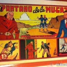Tebeos: JULIO Y RICARDO - EL PANTANO DE LA MUERTE - MUY BUENA CONSERVACIÓN. Lote 220142665