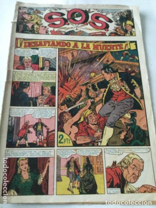 SOS- 1951 - NUM. 1 - REPARADO ARRIBA IZQUIERDA (Tebeos y Comics - Valenciana - S.O.S)