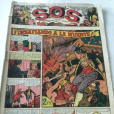 Tebeos: SOS- 1951 - NUM. 1 - REPARADO ARRIBA IZQUIERDA. Lote 220143013