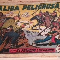 Tebeos: SALIDA PELIGROSA CON EL PEQUEÑO LUCHADOR Nº 76 ORIGINAL VALENCIANA 1945. Lote 220465862