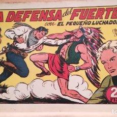 Tebeos: LA DEFENSA DEL FUERTE CON EL PEQUEÑO LUCHADOR Nº 75 ORIGINAL VALENCIANA 1945. Lote 220466191
