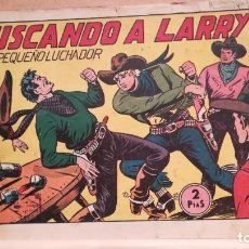 Tebeos: BUSCANDO A LARRY CON EL PEQUEÑO LUCHADOR Nº 108 ORIGINAL VALENCIANA 1945. Lote 220478997