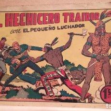 Tebeos: EL HECHICERO TRAIDOR CON EL PEQUEÑO LUCHADOR Nº 27 ORIGINAL VALENCIANA 1945. Lote 220479640