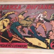 Tebeos: ALIANZA DE RUFIANES CON EL PEQUEÑO LUCHADOR Nº 66 ORIGINAL VALENCIANA 1945. Lote 220480126