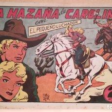 Tebeos: LA HAZAÑA DE CAROLINA CON EL PEQUEÑO LUCHADOR Nº 71 ORIGINAL VALENCIANA 1945. Lote 220480262