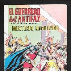 Tebeos: EL GUERRERO DEL ANTIFAZ, MISTERIO DESVELADO, NUMERO 259, EDITORIAL VALENCIANA.. Lote 220750746