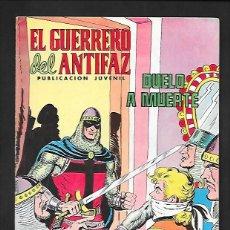 Tebeos: EL GUERRERO DEL ANTIFAZ, DUELO A MUERTE, NUMERO 238, EDITORIAL VALENCIANA.. Lote 220753478