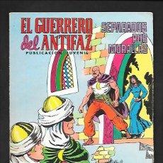 Tebeos: EL GUERRERO DEL ANTIFAZ, SEPARADOS POR MURALLAS, NUMERO 222, EDITORIAL VALENCIANA.. Lote 220756203