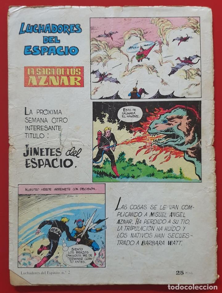 Tebeos: Luchadores del espacio #2 (Valenciana, 1978) - Foto 2 - 220758322