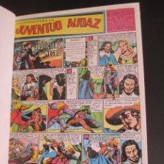 Tebeos: JUVENTUD AUDAZ (1947, VALENCIANA) FACSIMILES. Lote 220764065