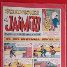 Tebeos: ANTIGUO SELECCIONES DE JAIMITO Nº 43 ORIGINAL CT3. Lote 220768841
