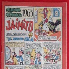 Tebeos: ANTIGUO ALBUM COMICO DE JAIMITO 1963 ORIGINAL CT3. Lote 220769027