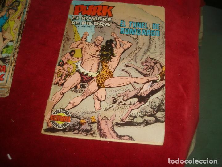 Tebeos: purk el hombre de piedra completa 144 numeros - Foto 4 - 220791762