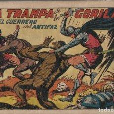 Tebeos: LA TRAMPA DE LOS GORILAS Nº 112 - AÑO 1943 - VALENCIANA. Lote 220833251