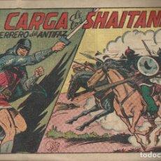 Tebeos: LA CARGA DE LOS SHAITANES Nº 166 - A.1943 - VALENCIANA. Lote 220853431
