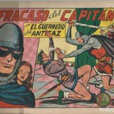 Tebeos: EL FRACASO DEL CAPITAN Nº 170 - A.1943 - VALENCIANA. Lote 220853573