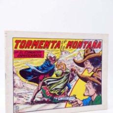 Tebeos: EL ESPADACHIN ENMASCARADO 2ª EDICIÓN 48. TORMENTA EN LA MONTAÑA (QUESADA / GAGO) 1982. OFRT. Lote 220917271