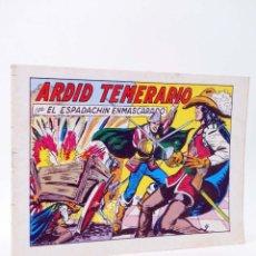 Tebeos: EL ESPADACHIN ENMASCARADO 2ª EDICIÓN 49. ARDID TEMERARIO (QUESADA / GAGO) VALENCIANA, 1982. OFRT. Lote 220917278